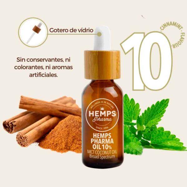 Aceite de cáñamo 10 % Hemps Pharma comprar