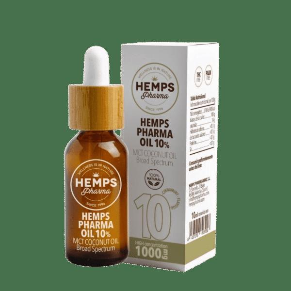 Aceite de cáñamo 10 % Hemps Pharma